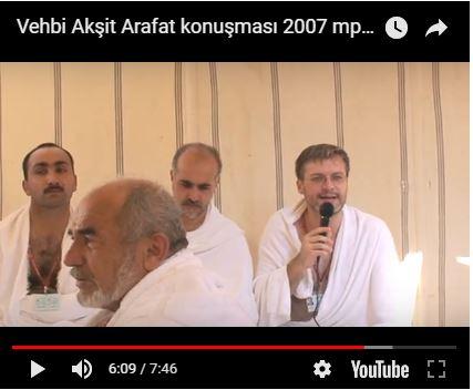 2006 Yılı Arafat Konuşması