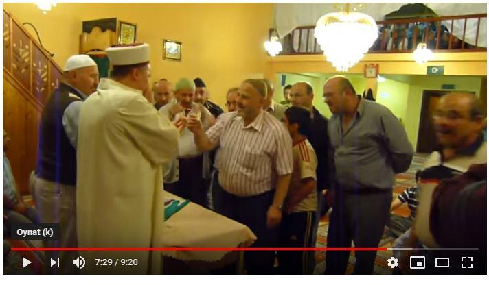 La Louviere Yavuz Sultan Selim Camii Sakalı Şerif Ziyareti