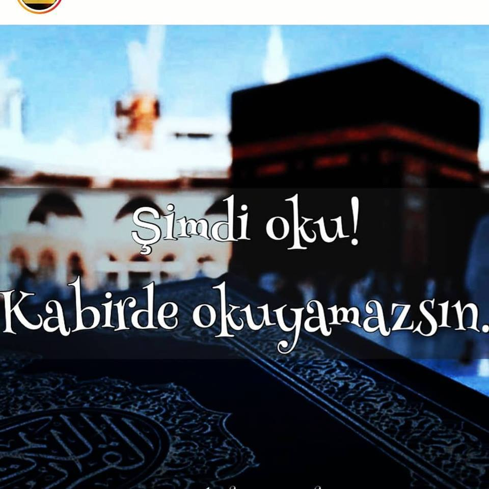 Okumuyoruz çünkü…