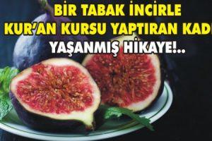 Bir Tabak incir ve Kur'an kursu