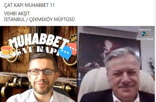 Ahmet Demirel ile Çat Kapı Muhabbet Programına konuk olduk
