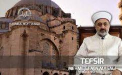 Prof.Dr. Mehmet Emin Maşalı-Cüz Cüz Kuran Tefsiri